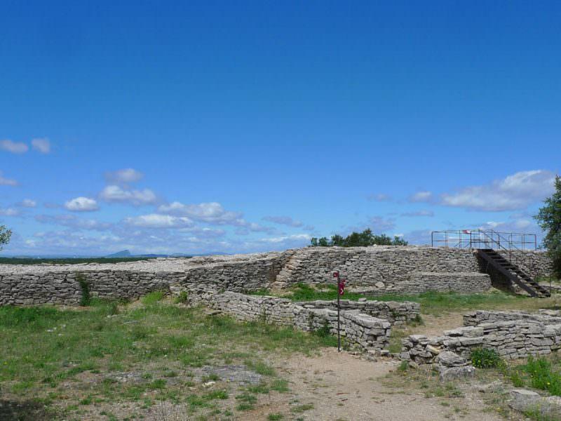 oppidum gaulois d'Ambrussum