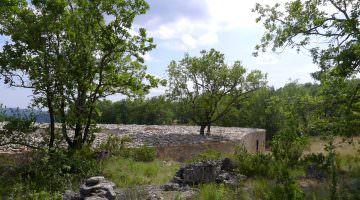 La maison de site à Blandas