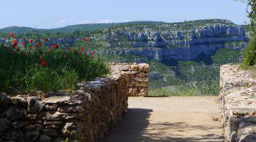 Le belvédère des chênes à Blandas