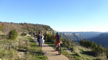 La promenade des belvédères à Blandas