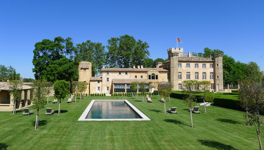Le chateau Beaulieu à Rognes