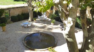 Le chateau Beaulieu, la cours