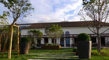 Le jardin du chateau Valmy