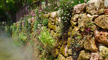 Baudouvin : le mur d'eau
