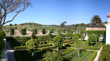 Le domaine de Léoube, le jardin de curé