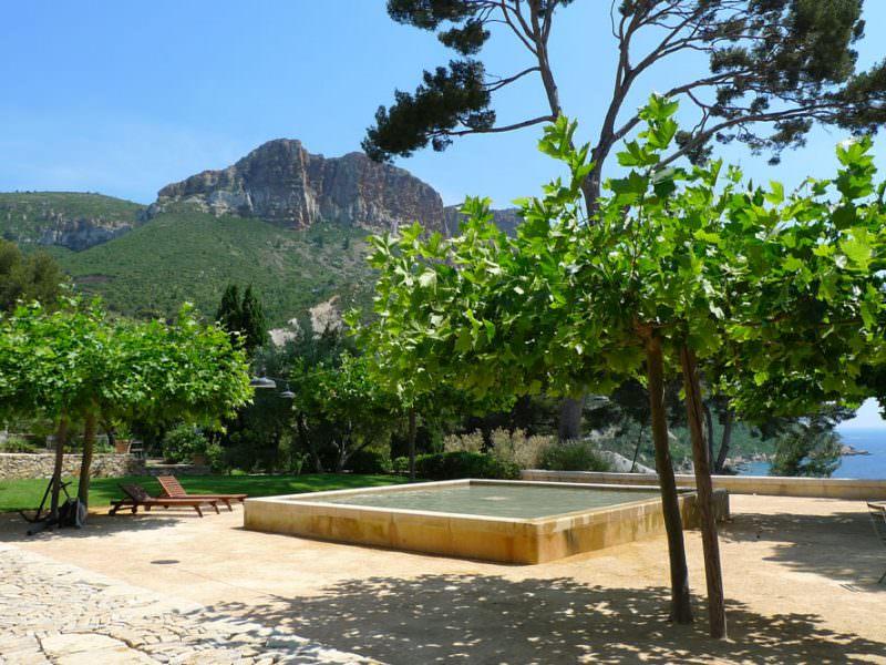 Le domaine de Lorca à Cassis
