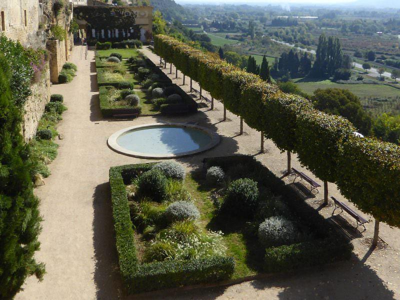 Le jardin du chateau Lauris
