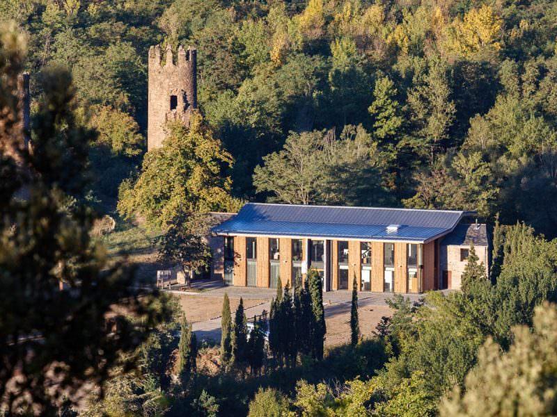 L'ancienne ferme de la Bastide à Olette dans les Pyrénées catalanes