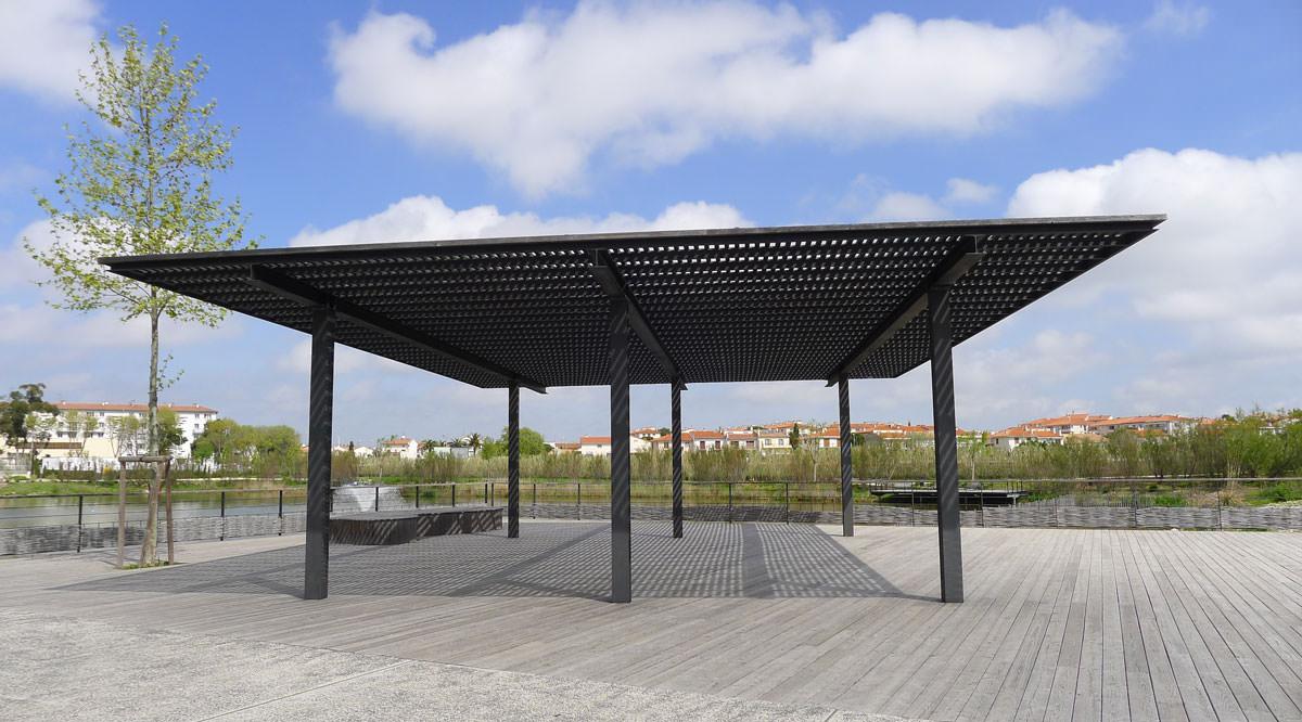 Le parc Sant Vicens à Perpignan
