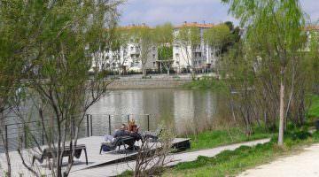 Parc Sant Vicens : le ponton