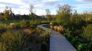 Parc Sant Vicens : jardin et feuillages