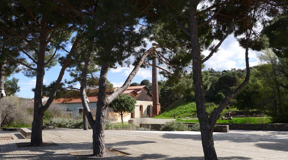 Paulilles à Port-Vendres : la cheminée