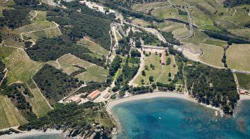 Vue aérienne du site de Paulilles