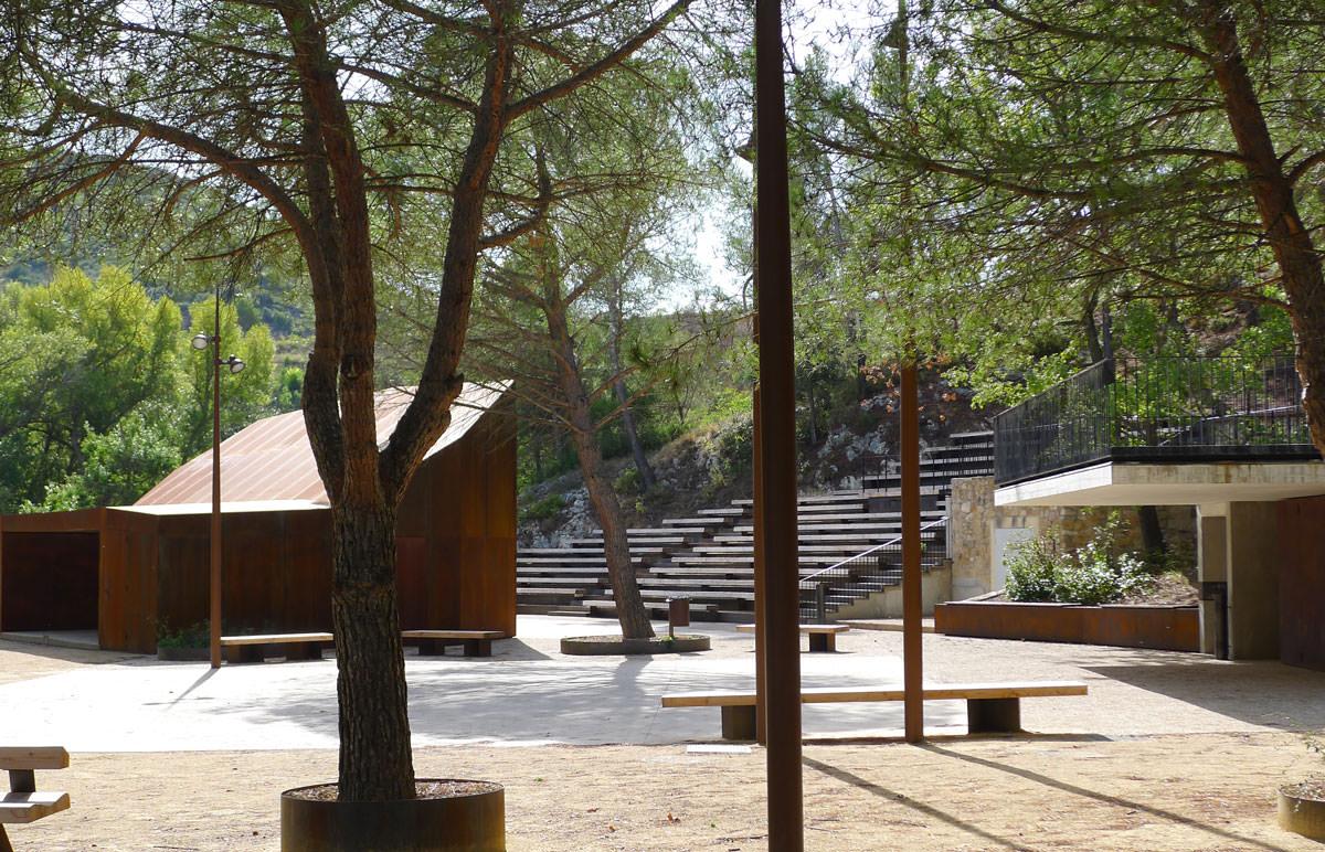 Théâtre du Vallon de l'Escal à Saint Estève Janson