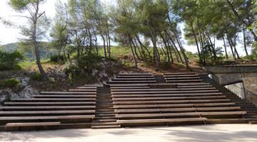 Théâtre du Vallon de l'Escal : l'amphithéâtre