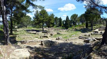 Le site archeologique de Saint-Blaise : le parcours