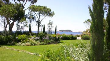 Villa des Tours : la vue mer