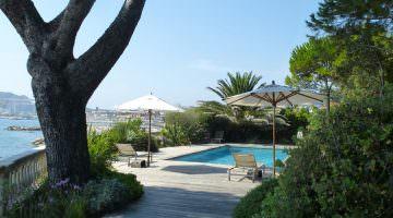 Villa des Tours : la piscine